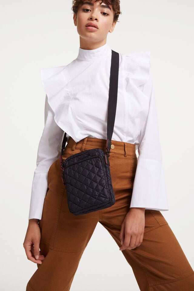 mz wallace micro metro crossbody in black