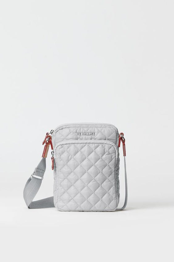 mz wallace micro metro crossbody in fog