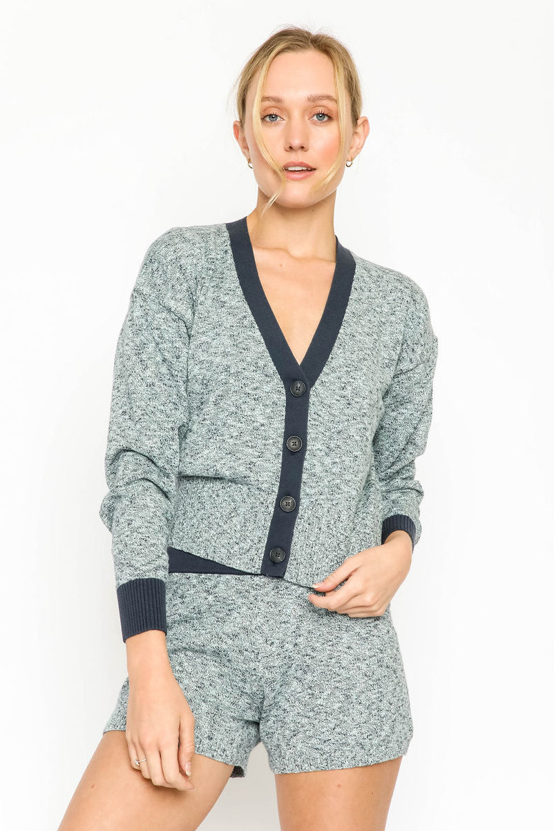 naadam v-neck cardigan