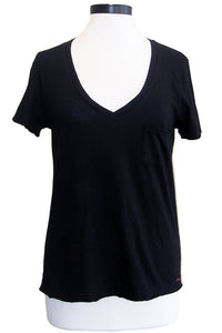 n:philanthropy lynne v-neck tee black