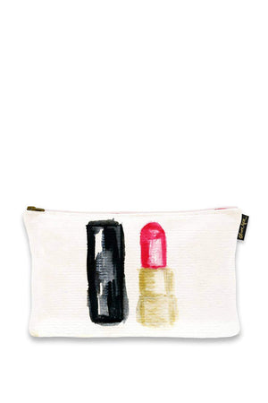oliver gal red shade pouch