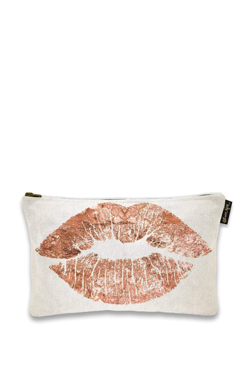 oliver gal solid kiss copper pouch