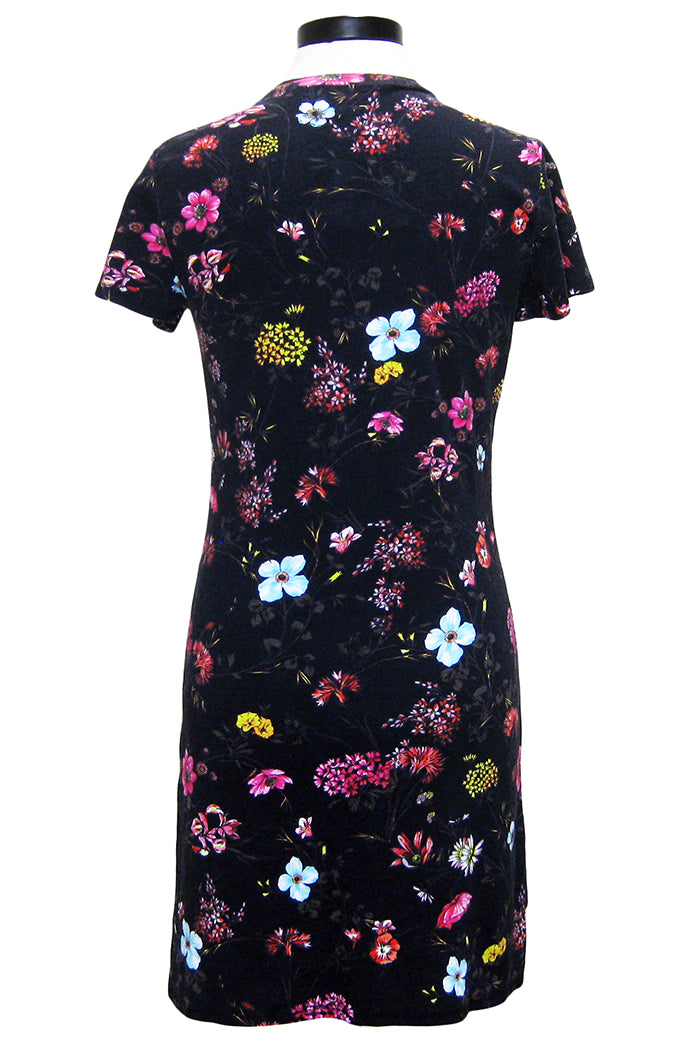 pam & gela floral fineline t-shirt dress
