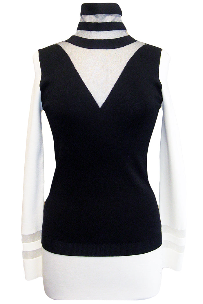 pinko custoza sweater black