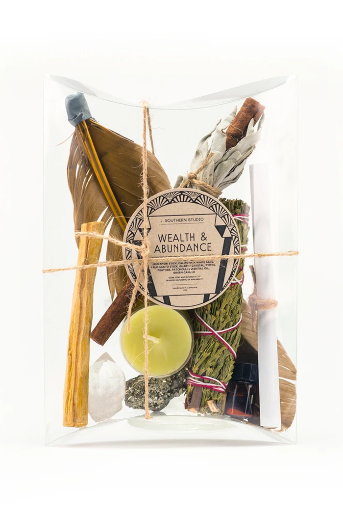 j. southern studio wealth and abundance ritual kit