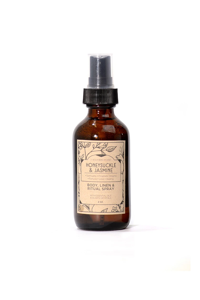 j. southern studio honeysuckle and jasmine ritual mist
