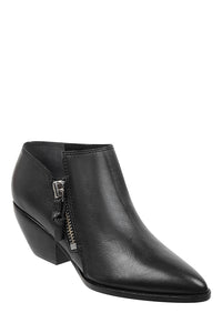sigerson morrison hannah bootie black leather