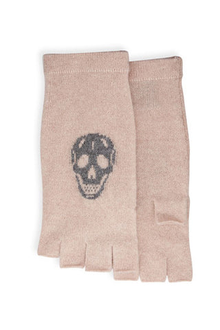 skull cashmere skull glove (more colors available)