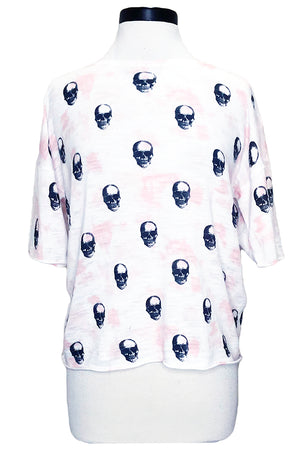 skull cashmere portia white pink charcoal