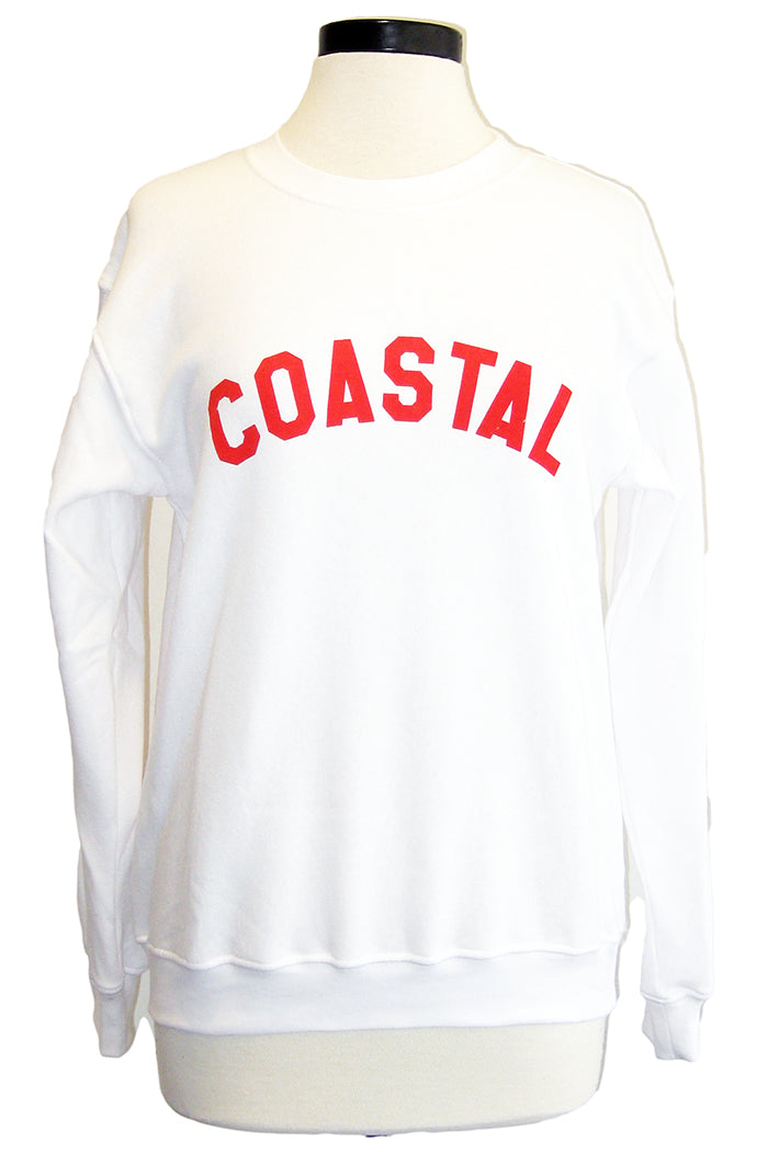 sub_urban riot coastal sweatshirt white