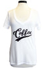 sub_urban riot coffee v-neck white
