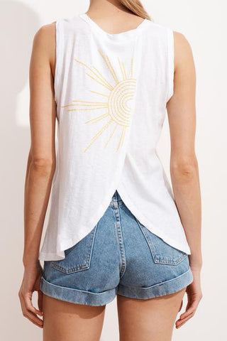 sundry sunshine cross back tank