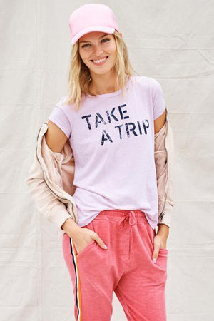 sundry take a trip boy tee
