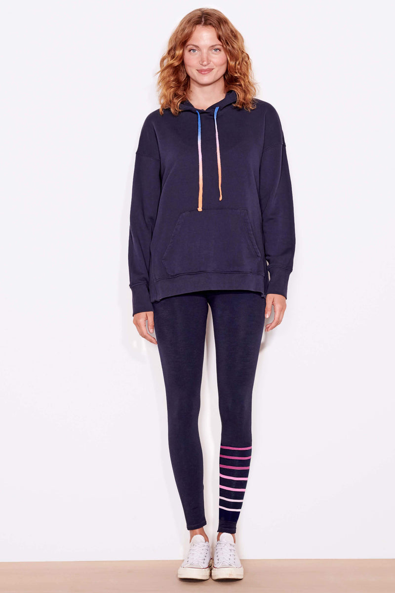 sundry pocket hoodie with slits