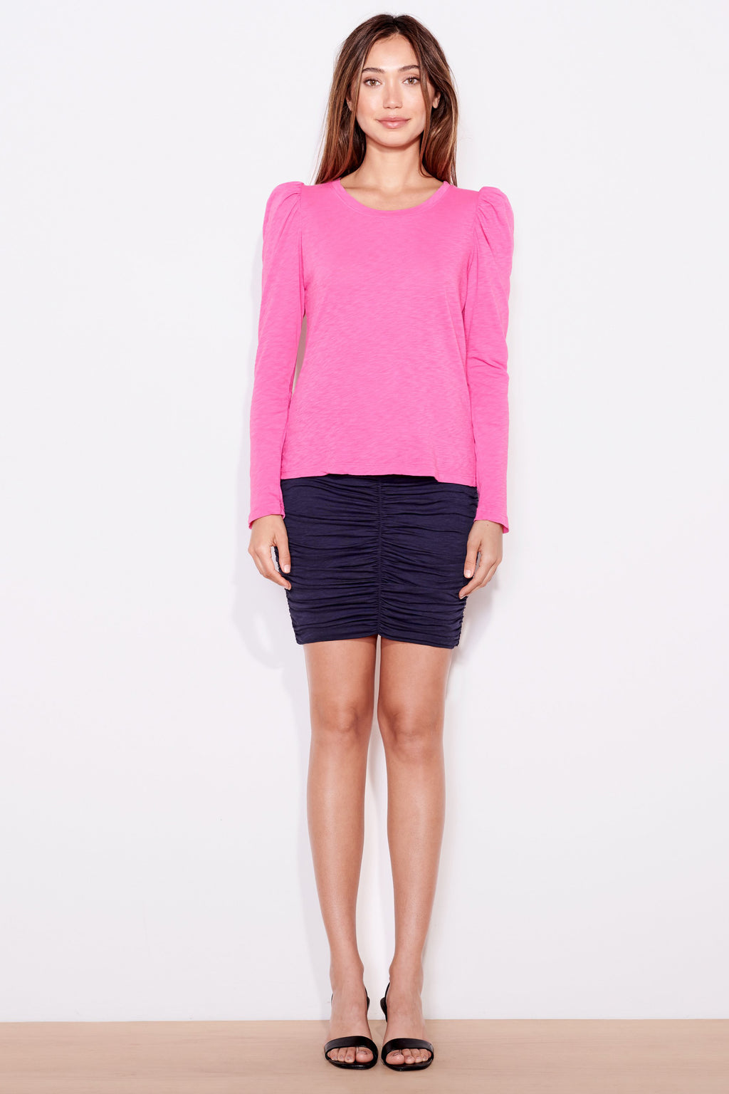 sundry puff shoulder long sleeve