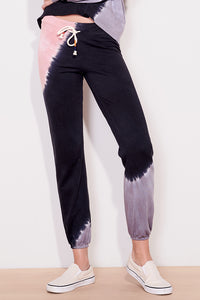 sundry terry sweatpants terracotta charcoal