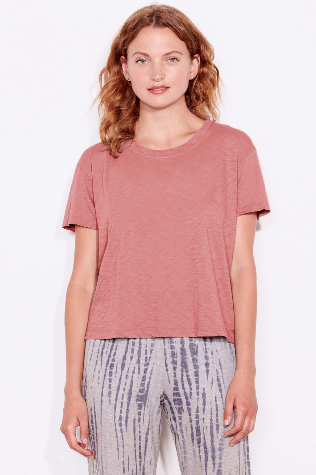 sundry vintage tee faded rose