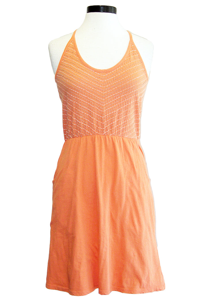 synergy mia dress coral
