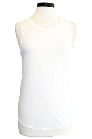 synergy muscle tank star white
