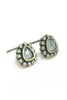 tai antique triangular stud earrings