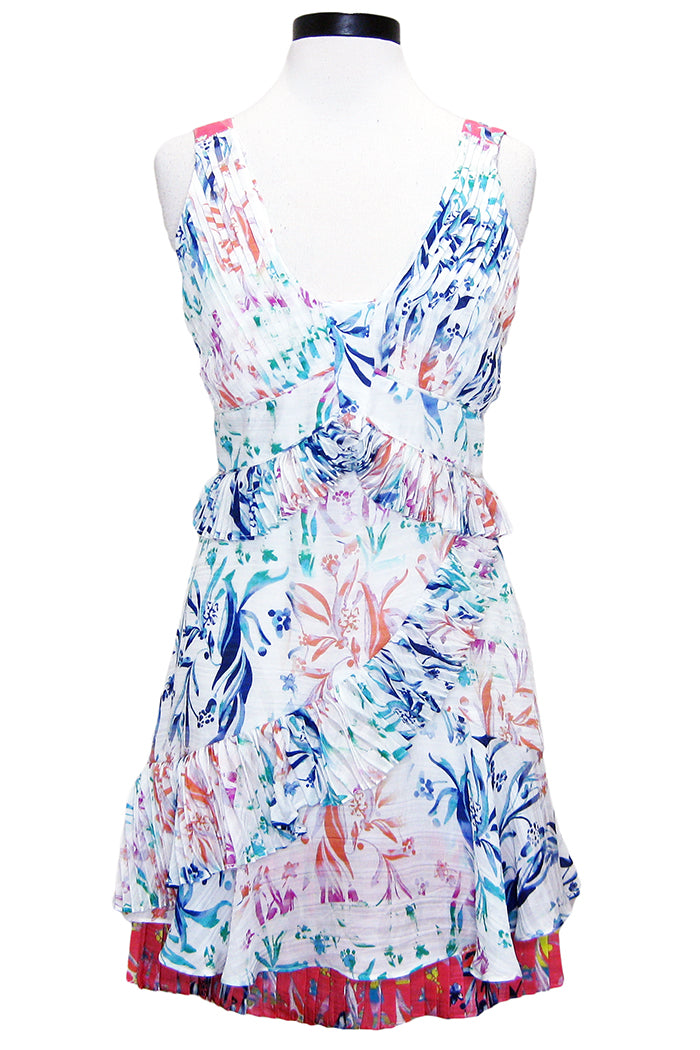 tanya taylor eva dress botanical floral white
