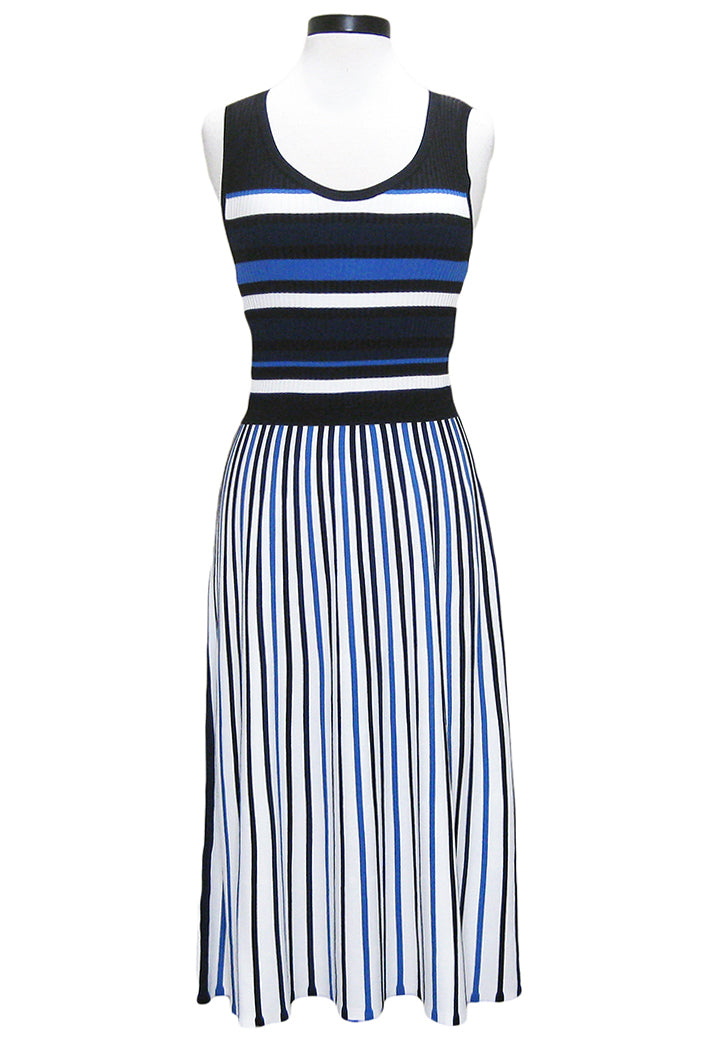 tanya taylor iolanda dress navy white