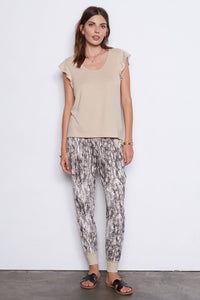 tart lydia jogger set neutral snake
