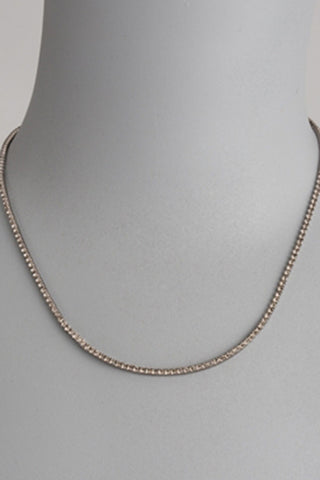 theia eternity cz necklace