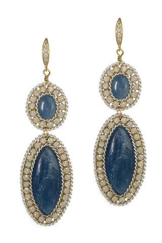 theia lapis earrings