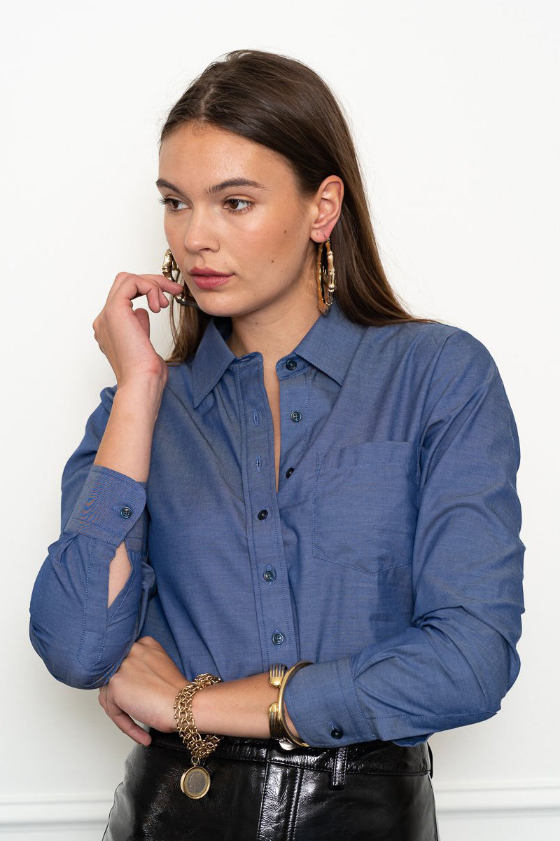 the shirt chambray shirt