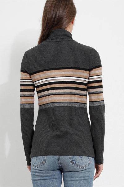 three dots norma turtleneck