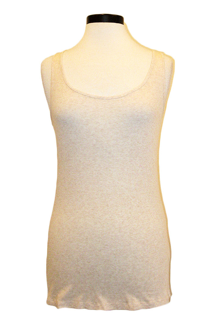 three dots fitted scoop tank oatmeal