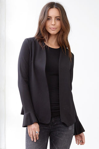 three dots ponte jacket