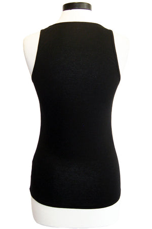 three dots vintage jersey scoop neck tank