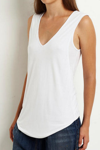 virginia wolf twist back tank