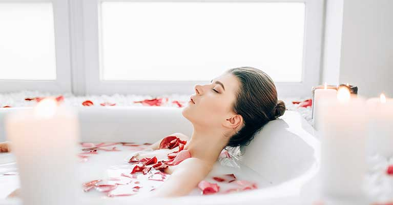 herbal bath for treating flu