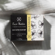Load image into Gallery viewer, Olive & Calendula Handcrafted Vegan Soap