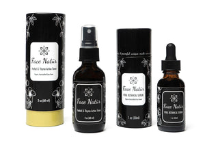 Herbal & Thyme Active Toner and Vital Botanical Serum Bundle