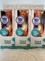 Three Mizzie The Kangaroo Baby Teething Toy