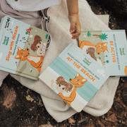 Mizzie The Kangaroo Baby Board Book Gift Set With Soundbook