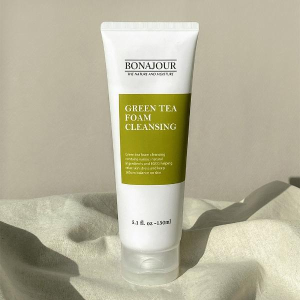 Green Tea Foam Cleansing - [Yes She May]