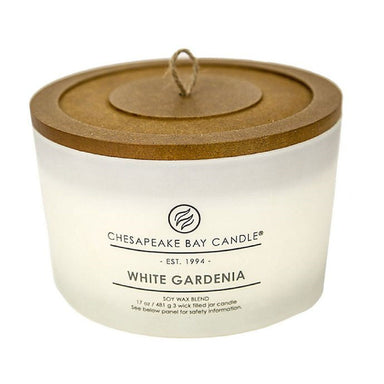 White Gardenia Soy Blend Candle