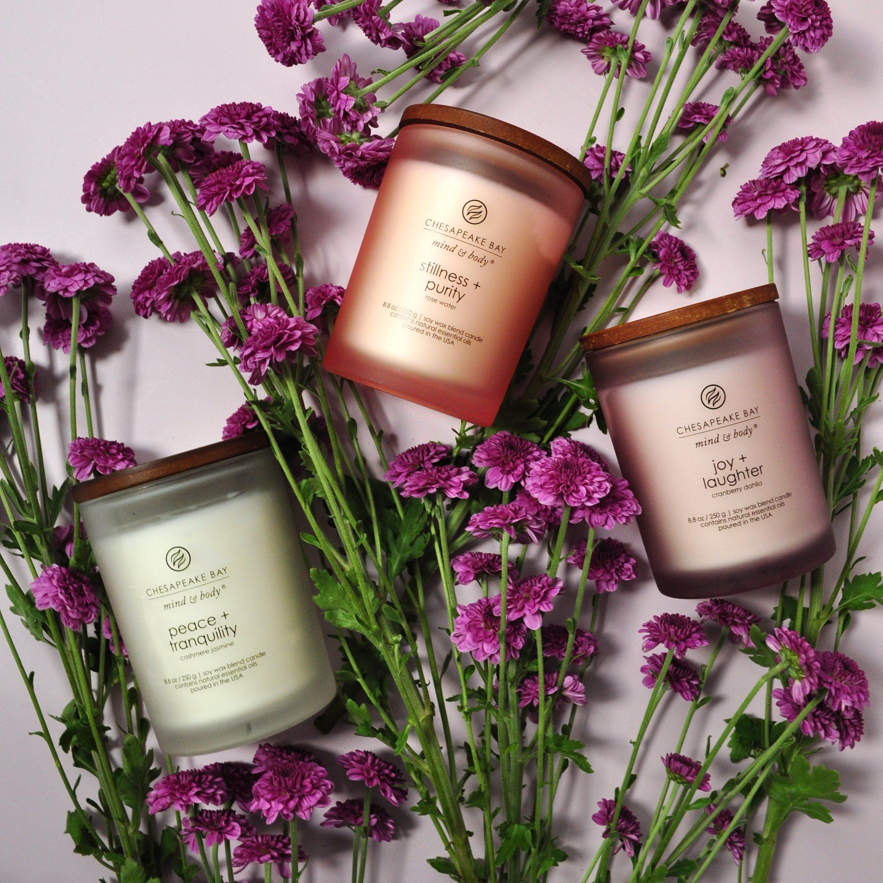 Mind & Body Candle Bundle