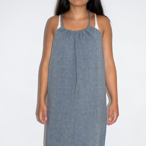 Sile Turkish Cotton Slip Dress