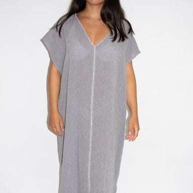 Sile V-Neck Caftan Dress