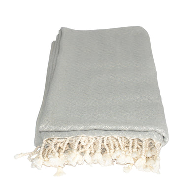 Double-Sided Turkish Cotton Throw