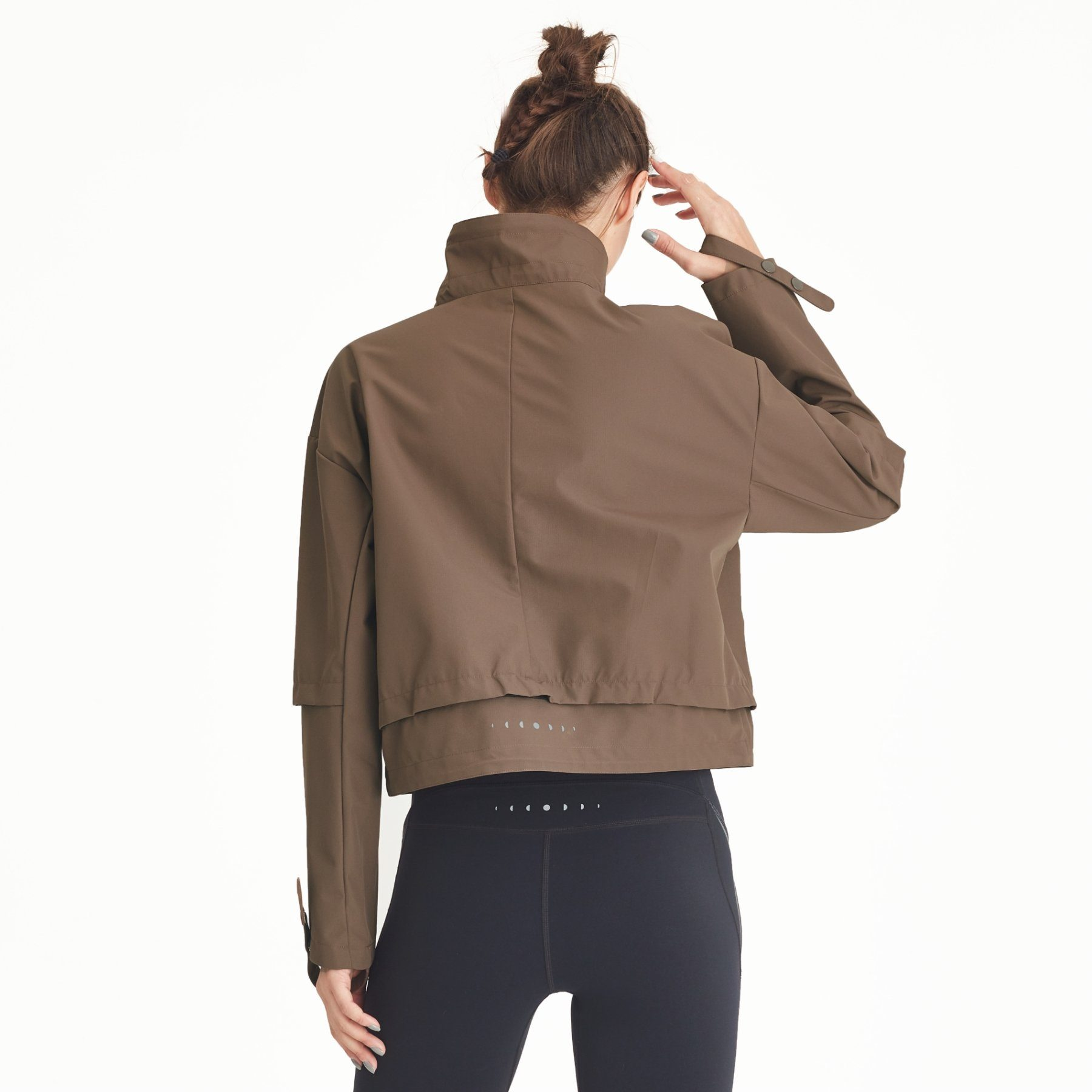 Renew Khaki Windbreaker