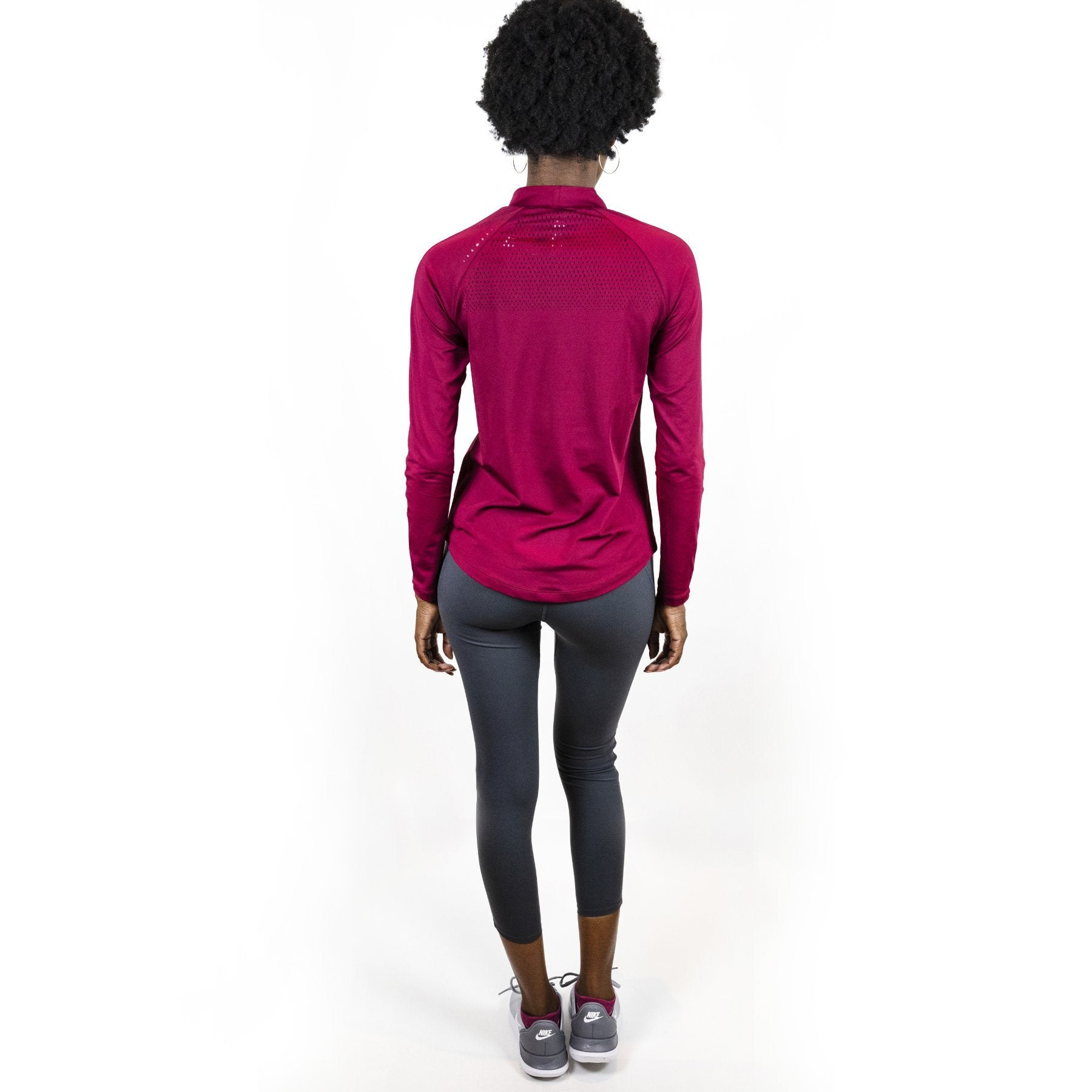 Balance High Rise Cropped Contrast Leggings