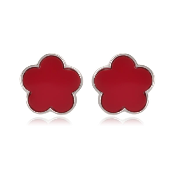 Anita Red Earrings - [Yes She May]