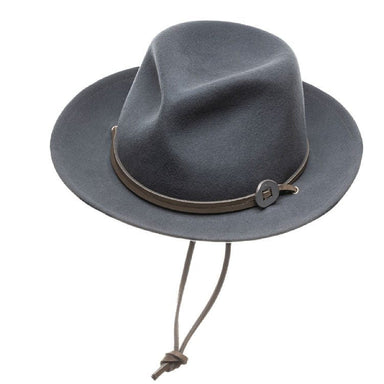 Frankie Wool Fedora Hat - Avion